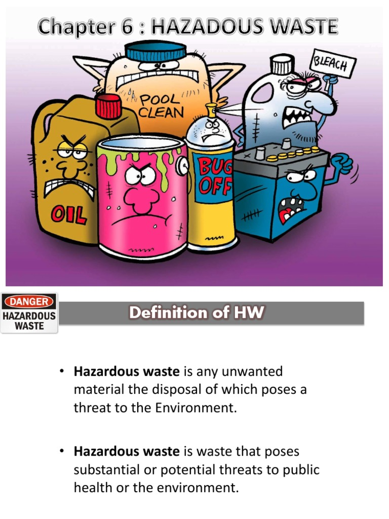 topic 6 hazardous waste management | incineration | hazardous waste