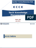 Tacit Knowledge Management 20150707