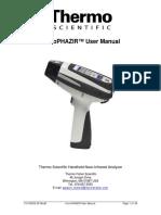 MicroPHAZIR User Manual