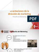 Filosofía de La Gerencia de Marketing