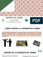 Geografía Del Crimen