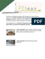 FClean presentacion