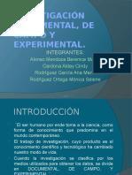 investigaciondocumentaldecampooexperimental-160215041332