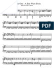Rogue One a Star Wars Story Piano Sheet Music