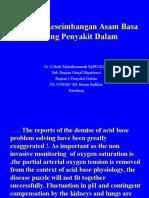 dr. A. Hadi, Asam Basa