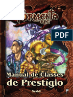 Tormenta RPG - Manual de Classes de Prestígio - Biblioteca Élfica