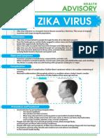 ZIKA Virus Advisory Final