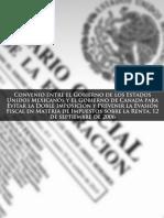 CONVENIO ENTRE EL GOBIERNO DE MEXICO Y EL DE CANADA SOBRE EL ISR