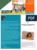 Vetrivel Newsletter Edition 1