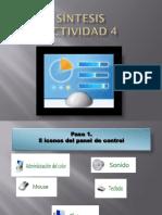 Panel de Control Info