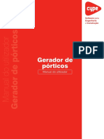 Gerador de Pórticos - Manual Do Utilizador