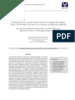 Estimación de La Creciente Media Anual en La Región Hidrológica Num. 10 de México
