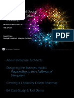 Business Model Design - The Capability Driven Roadmap