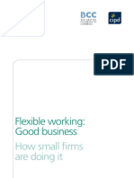 Flexible Working Good Business - How Small Firms Are Doing It