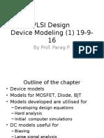 U II Device Modeling 19-9-16