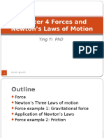 Chapter 4 forces and newton law's of motion