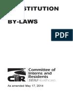 CIR Constitution 2014