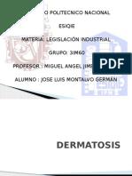 LEGISLACIÓN dermatosis