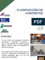 Clasificacion de Concretos
