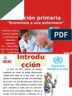 ATENCION PRIMARIA RELACIONADA AL MODELO DE NOLA PENDER