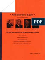 Administrative Equity, Form #09.069