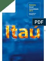 Itaú - Relatório Anual Consolidado 2015