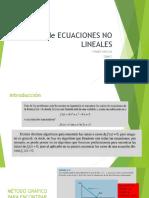 Solución a Sistemas de Ecuaciones No Linealesv6