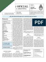 Boletin Oficial 02-06-10 - Segunda Seccion