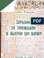 Costin Fenesan - Diplome de innobilare