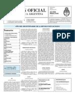Boletin Oficial 03-06-10 - Segunda Seccion