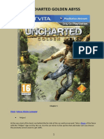 Uncharted Golden Abyys - PS Vita