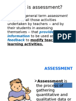 Introduction of Assessment