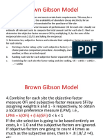 Brown Gibson Model