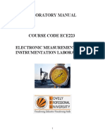 Electronic Measurements And Instrumentation By Lal Kishore Pdf