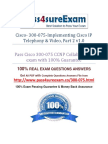 Pass4sure 300-075 Exam Dumps