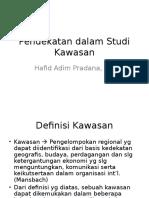 Materi 2 Pertemuan 3-Pendekatan dalam Studi Kawasan.ppt