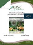 International Journal of Nano Studies & Technology (IJNST) ISSN:2167-8685