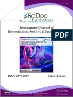International Journal of Reproduction, Fertility & Sexual Health (IJRFSH) ISSN 2377-1887