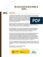 Prioridades Conservacion Anfibios Espana