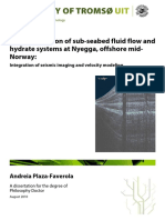 Characterization of sub-seabed fluid flow and hydrate systems at Nyegga, offshore mid- Norway