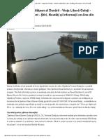 2016.09.16 Poluare Pe Malul Gălăţean Al Dunării - Viaţa Liberă Galaţi - Cotidian Independent - Ştiri, Noutăţi Şi Informaţii on-line Din Galaţi