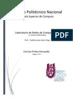 Reporte Practica No. 2 REDES