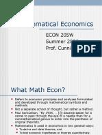 Mathecon