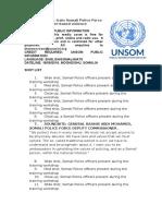 UN Police train Somali Police Force officers on gender-based violence
