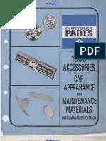 Catalogo Accesorios Dart 66