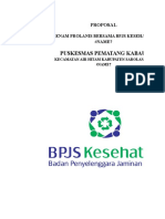 Contoh Proposal Prolanis BPJS Kesehatan