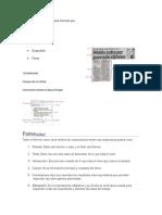 Las Cinco Partes de Una Carta Informal Son