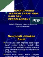 SINDROMA JEBAKAN SARAF PADA KAKI DAN ANKLE.ppt
