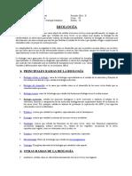 Lectura 1a - BIOLOGÍA