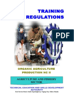 TR - Organic Agriculture Production NC II -Nov192012